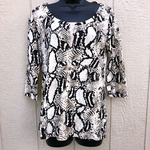 Nicole Miller New York Top size Large